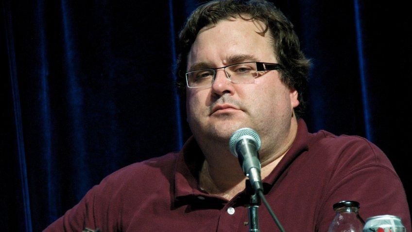 Reid Hoffman, founder of LinkedIn.