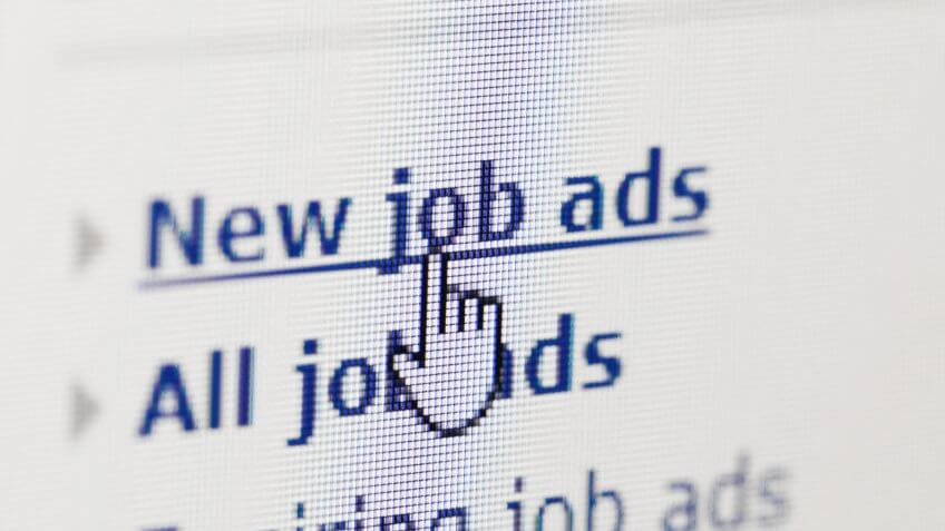 job ads, job search, online