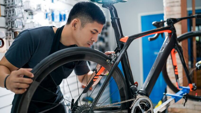bicycle repairer
