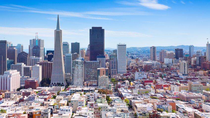 11716, Cities, Horizontal, San Francisco - California, US, USA, United States, america