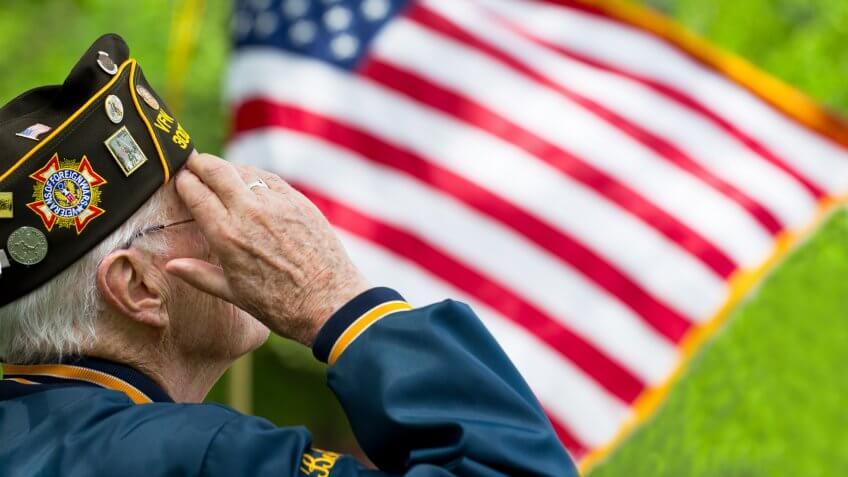 elderly, retired, senior, veteran