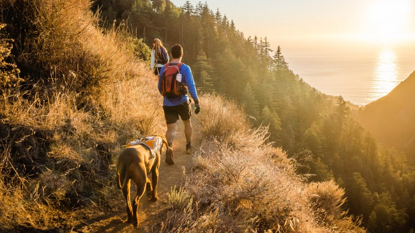 hiking in Big Sur California