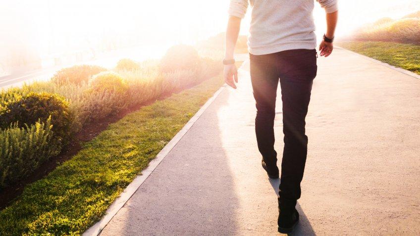 MAN, walking