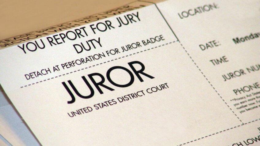 juror, jury duty
