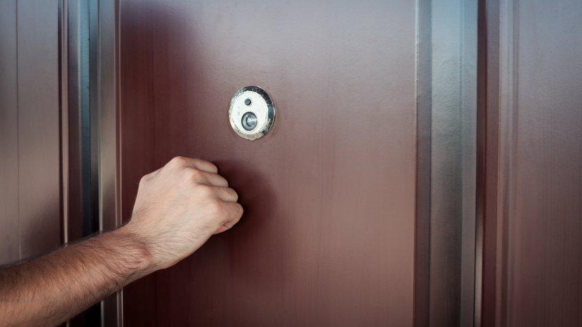 door, knock, knocking