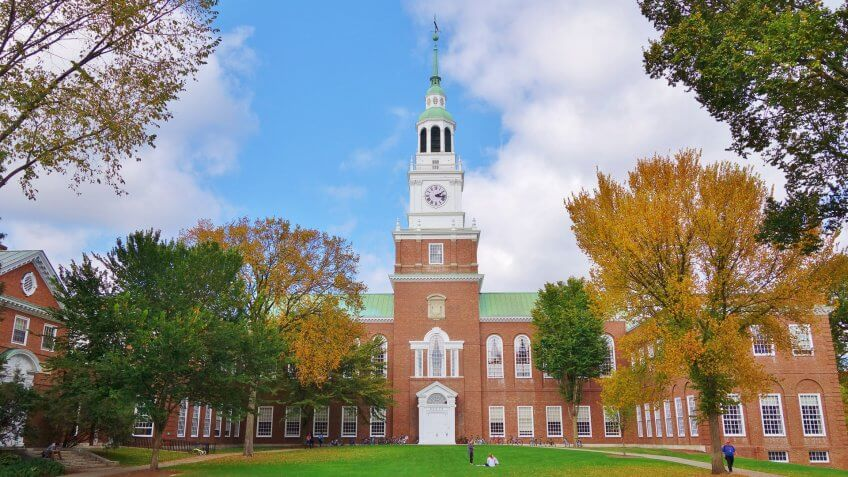 Dartmouth College New Hampshire Hanover