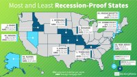 Most and Least Recession-Proof States