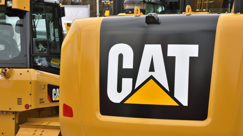 Caterpillar-Inc, Construction, Machinery, tractors
