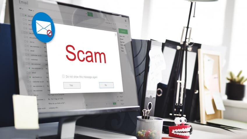Computer, email, scam, virus