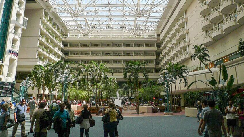Hyatt-Regency-Hotel-Orlando-International-Airport-Florida