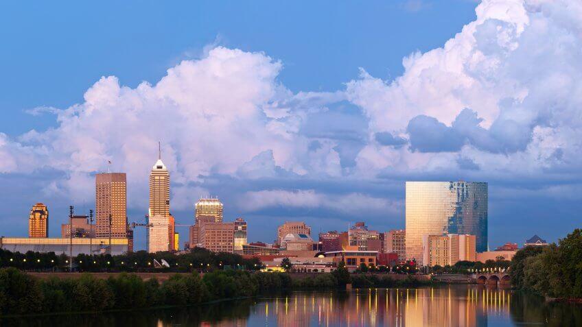 11716, Cities, Horizontal, Indianapolis - Indiana, US, USA, United States, america