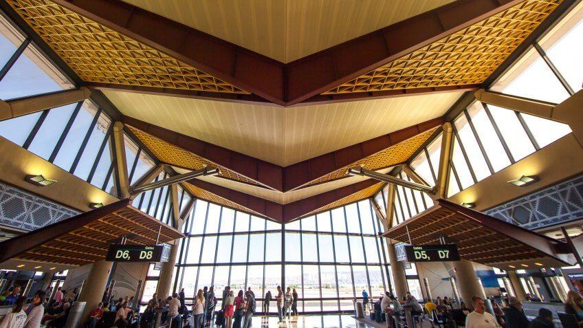 Airport, Houston George Bush Intercontinental Airport, IAH, Phoenix-Sky-Harbor-International-Airport-PHX-Arizona, Texas, USA, United States, United States of America, america, houston
