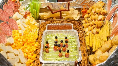Build a $200 Snack Stadium for the Super Bowl