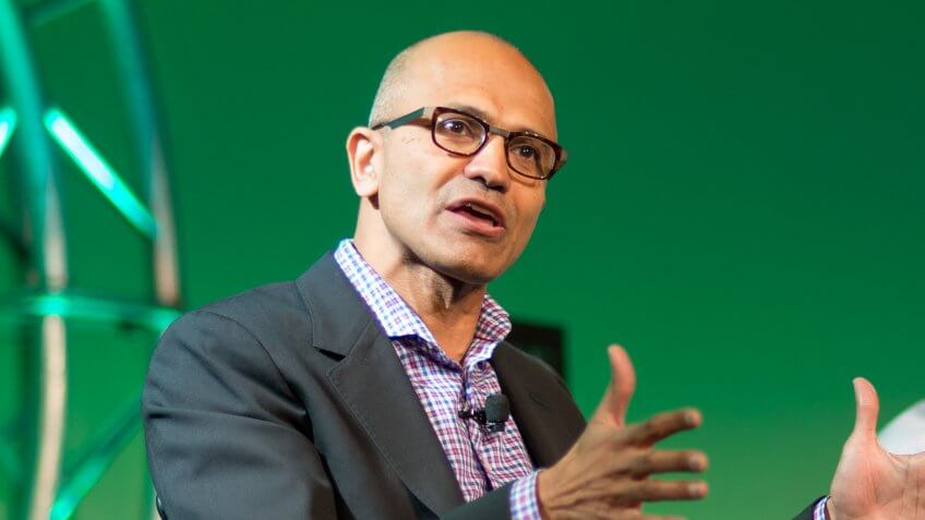 Fortune Brainstorm TECHJuly 14th, 2014Aspen, CO5:30 PMBIG DATA, BIGGER CHALLENGESSatya Nadella, CEO, MicrosoftInterviewer: Walter Isaacson, CEO, The Aspen InstitutePhotograph by Kevin Moloney/Fortune Brainstorm TECH.