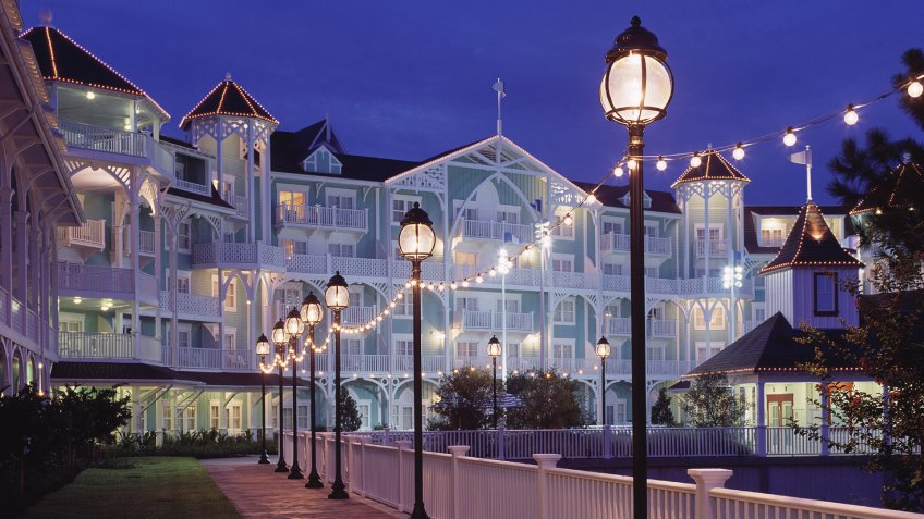 SEASIDE ELEGANCE — The Atlantic seaboard-inspired Disney's BeachClub Villas, located adjacent to the popular Disney's Beach ClubResort at Walt Disney World, was designed by noted architect RobertA.