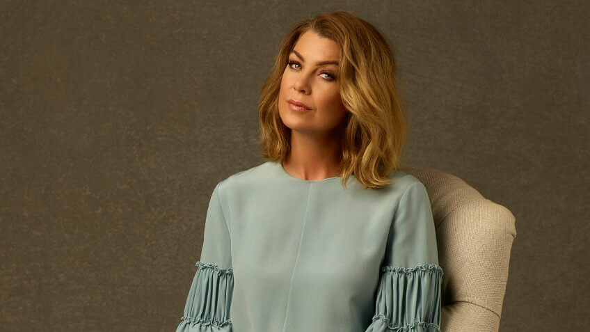 "GREY'S ANATOMY - ABC's ""Grey's Anatomy"" stars Ellen Pompeo as Meredith Grey."