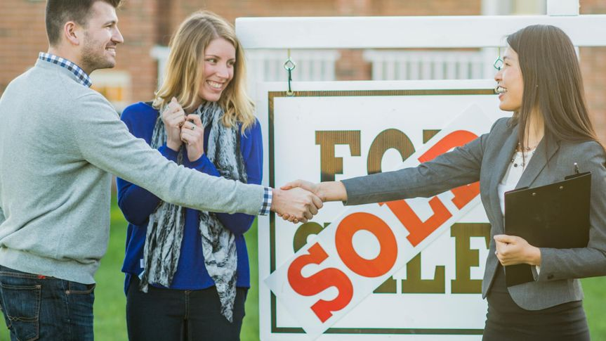 A couple have just purchased a new house.