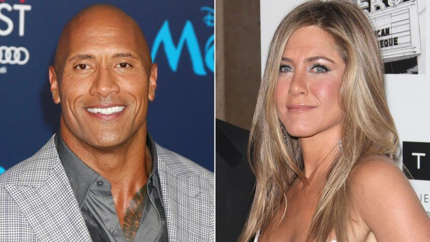 Dwayne Johnson / Jennifer Aniston.