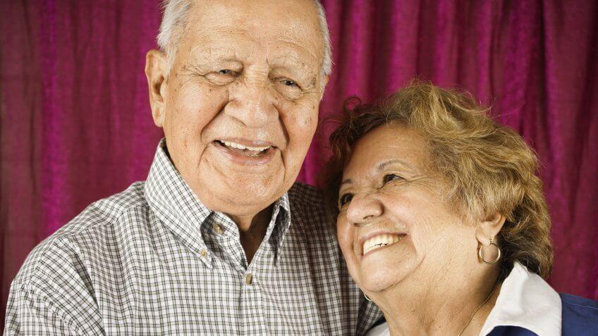 couple, elderly, retirees, seniors