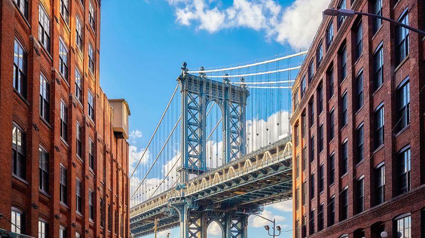 Manhattan Bridge in Brooklyn