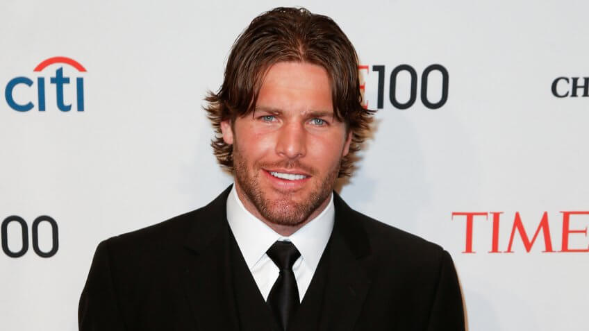 NEW YORK-APR 29: NHL player Mike Fisher attends the Time 100 Gala for the Most Influential People in the World at Frederick P.