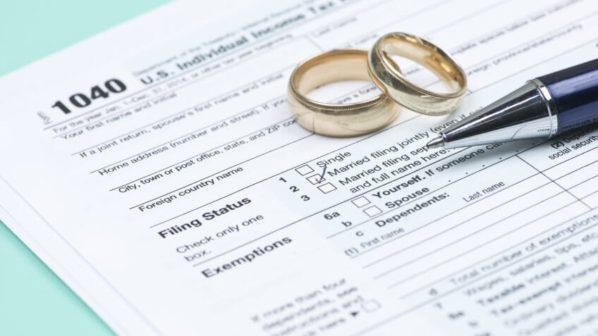 marriage, taxes