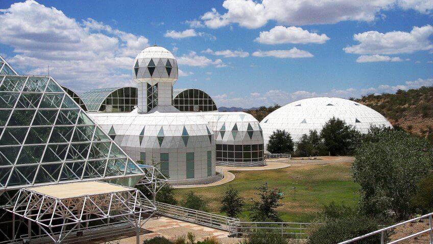 Arizona, Biosphere 2, Travel, destinations, hidden gems, travel destination