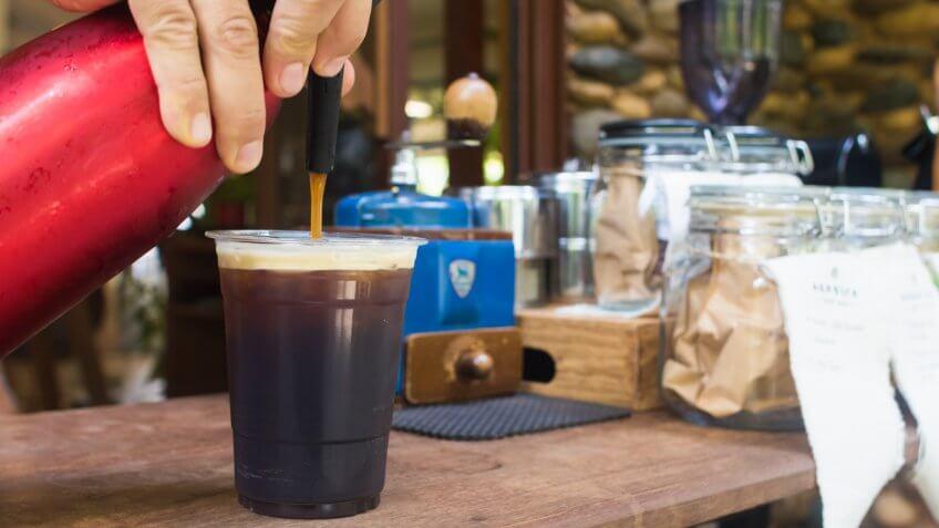 coffee, cold brew, nitro cold brew