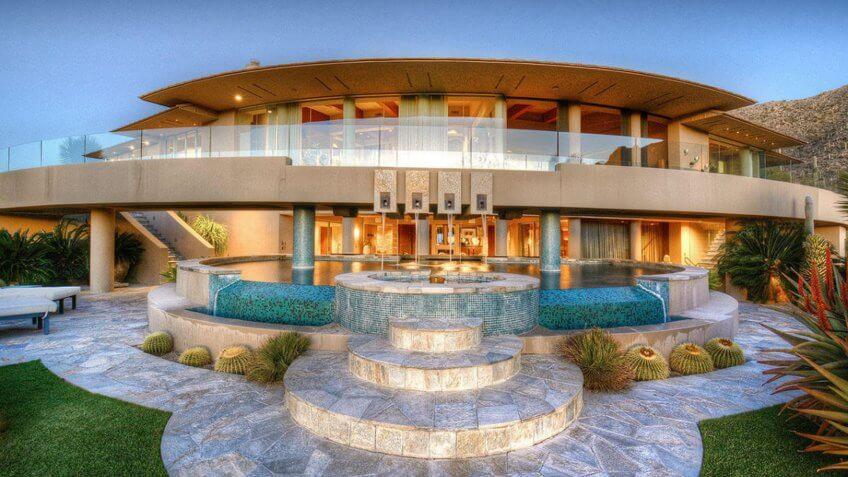 Futuristic Gated Estate