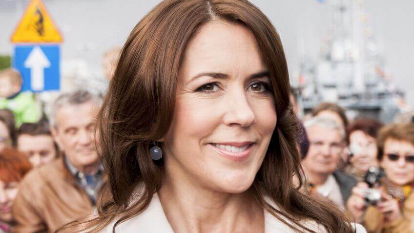 Princess Mary, during press conference in harbour.