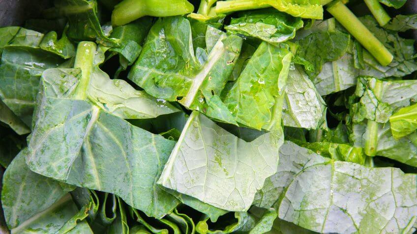 Frozen Food, kale