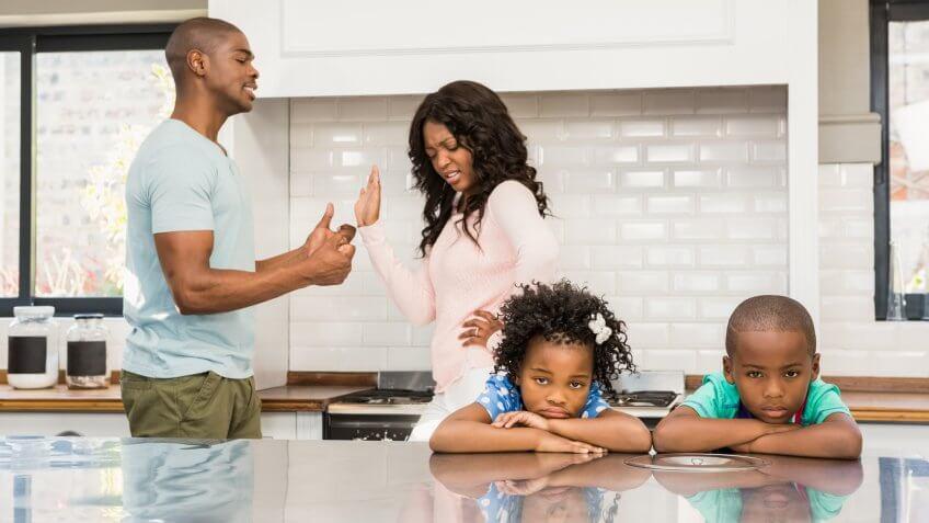divorce, father, mom, parents, quarrel, son