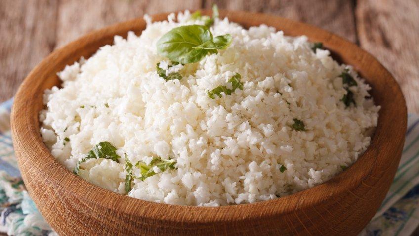 cauliflower, cauliflower rice