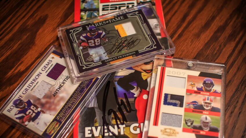 2007, Absolute Memorabilia, Adrian Peterson, Drew Brees, RC, autograph, football-cards, patch, trading cards