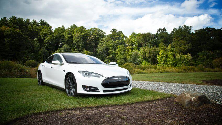 Tesla, electric car