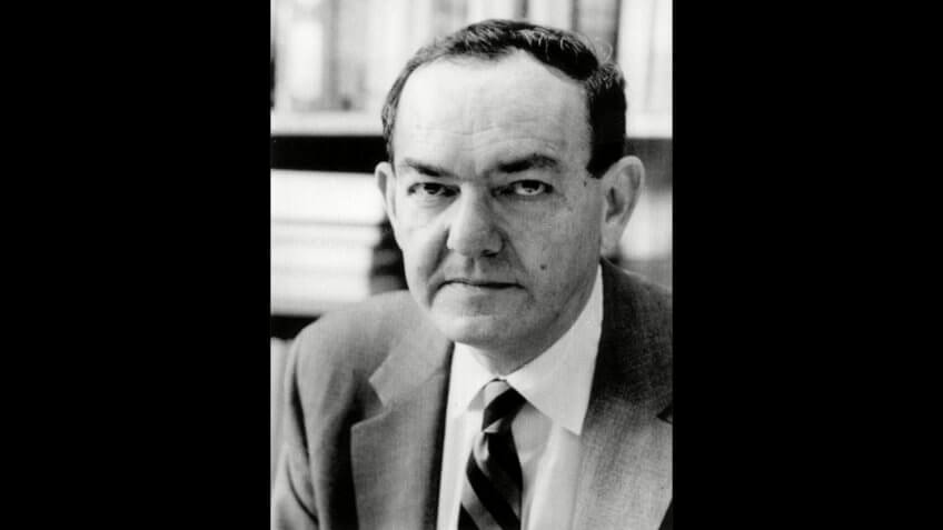 Mandatory Credit: Photo by HO/AP/REX/Shutterstock (6604581a)Nobel Prize winner for Economic Science Wins Nobel - Economist Herbert Simon, above, was awarded the 1978 Nobel Prize for Economic Science in Stockholm, Sweden.