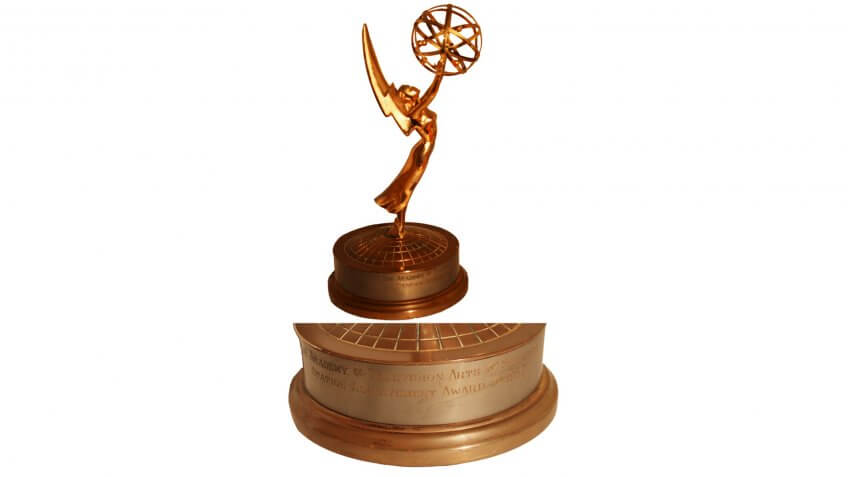 Rare, Early 1954 ''Station Achievement'' Emmy Award From the Academy of Television Arts and Sciences -- Gorgeous, Rare Statue From the Early Days of the Television Medium.