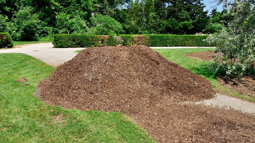 bulk landscaping mulch