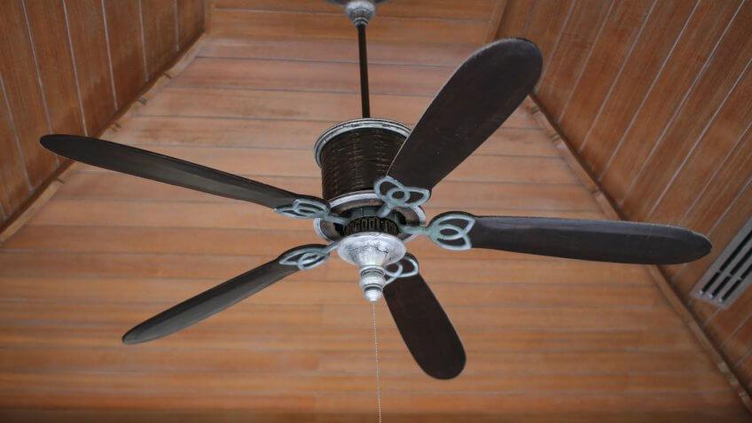 FAN, ceiling fan, electric fan