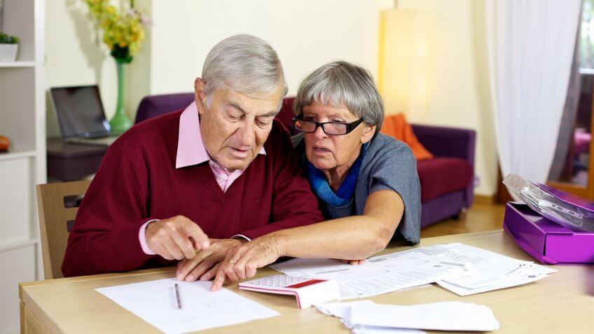 HOUSE, Senior Couple, elderly, seniors