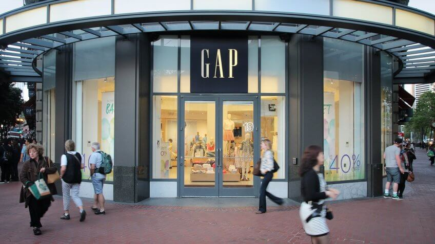 The Gap store
