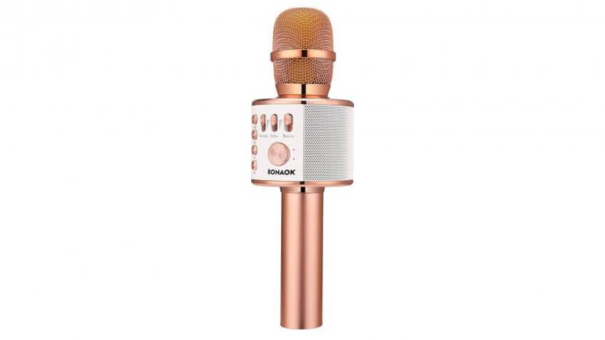 Bonaok-Wireless-Bluetooth-Karaoke-Microphone