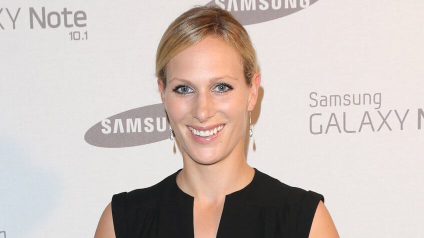 Zara Phillips arriving for the Samsung celebrate the launch of the Galaxy Note 10.