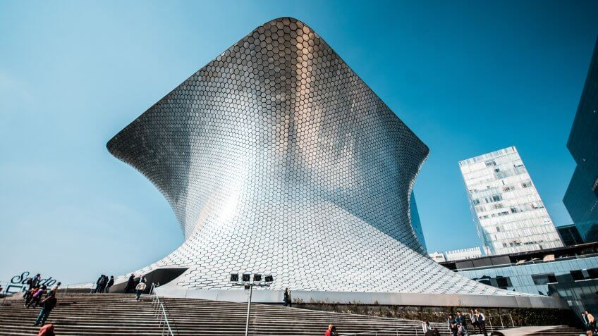 Carlos Slim's Museum in Mexico