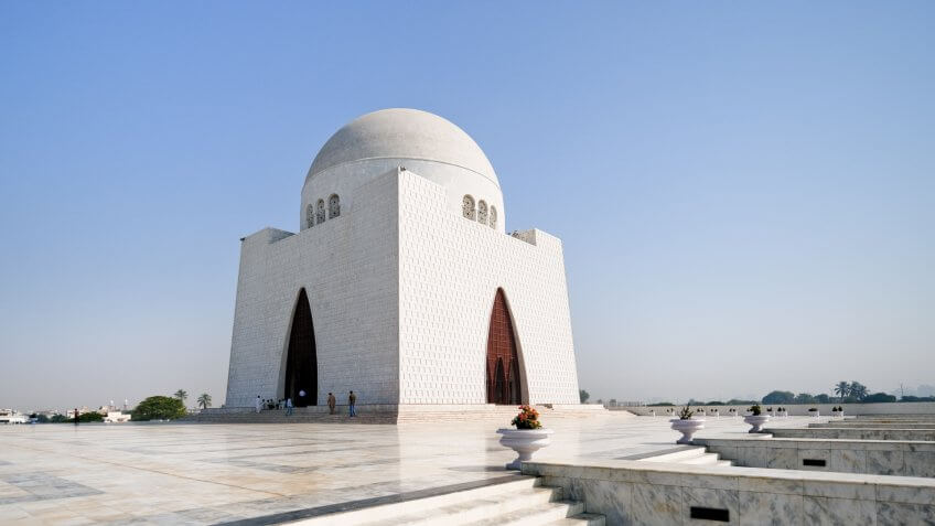 Jinnah Mausoleum or the National Mausoleum refers to the tomb of the founder of Pakistan, Muhammad Ali Jinnah.
