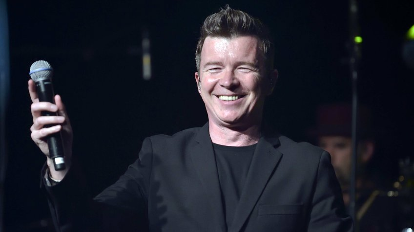 Rick Astley in concert, Alhambra, Paris, France - 02 May 2017.