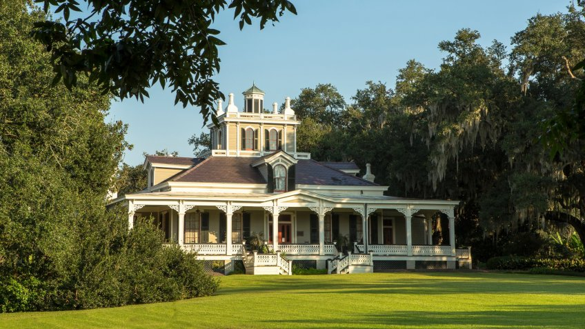 Jefferson House, Louisiana, Rip Van Winkle Gardens, Travel, destinations, hidden gems, travel destination
