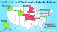 The Most (and Least) Tax-Friendly States for Retirees