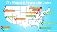 The Richest and Poorest People in America Live in These ZIP Codes