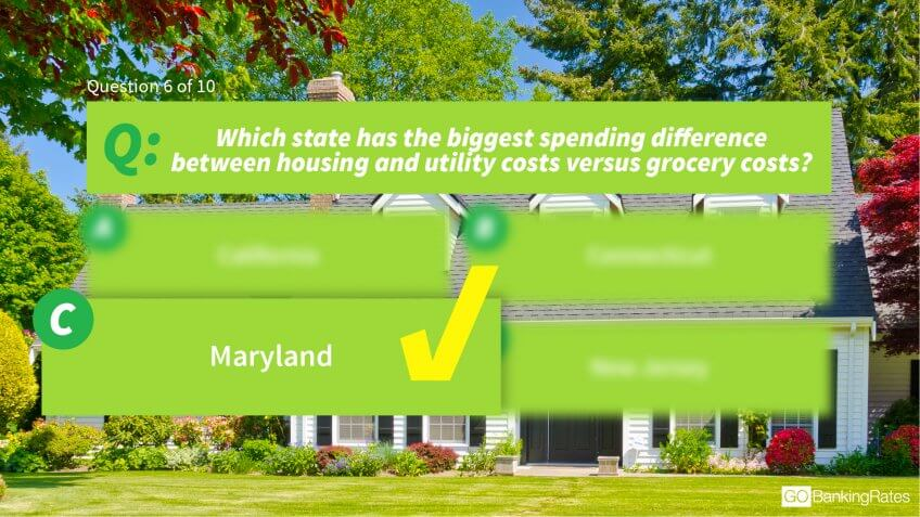 Answer: c) Maryland